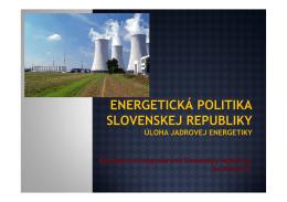 Ministerstvo hospodárstva Slovenskej republiky Ján Petrovič