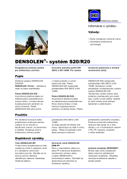 Densolen systém S20-R20