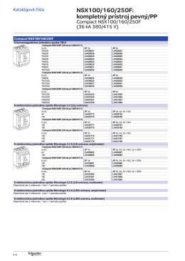 NSX100/160/250F