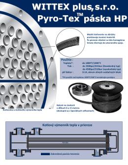 Pyro-Tex páska HP