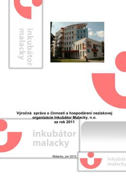 Výročná správa o činnosti a hospodárení