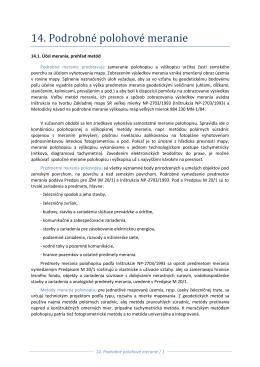 14. Podrobné polohové meranie.pdf (2090757)