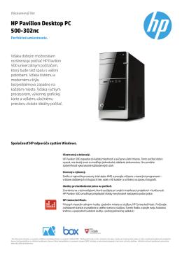 PSG Consumer 2C14 Desktop Datasheet