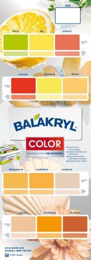 www.balakryl.sk infolinka: 0800 700 002 MALIARSKA FARBA PRE