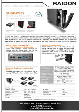 GT1660-WSB3 Datasheet