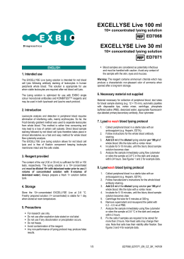 EXCELLYSE Live 100 ml EXCELLYSE Live 30 ml