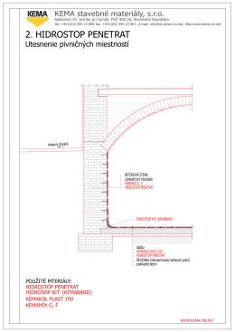 Detaily - betón _ 0. Podlaží