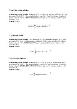 Príklad výpočtu RPMN triangel 1_2012