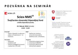 19. február 2014 - 13:00 - Auditorium maximum UKBA