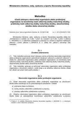 Ministerstvo školstva Slovenskej republiky