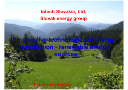 INTECH - Progressive technologies [Režim kompatibility]
