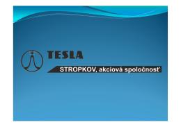 Prezentácia - slovenská verzia