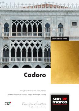 Cadoro - Colorificio San Marco