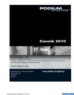 PODIUM - Veľkoobchodný cenník pdf 0,8MB