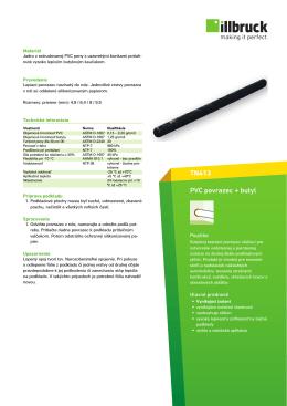 TN413 PVC povrazec + butyl