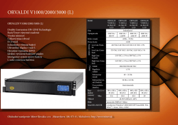 ORVALDI V1000/2000/3000 (L)