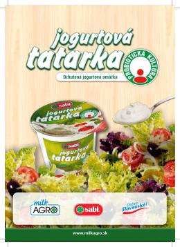Ochutená jogurtová omáčka