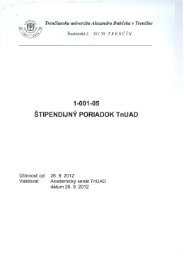 1-001-05 STIPENDIJNY PORIADOK TnUAD