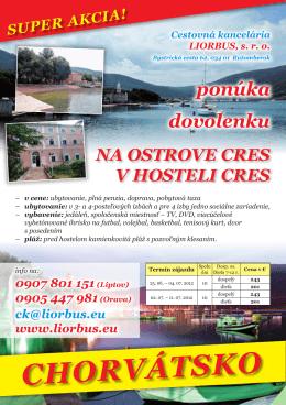 CHORvátSKO - Liorbus sro