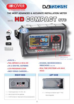 mod. HD COMPACT STC