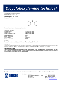 Dicyclohexylamine technical