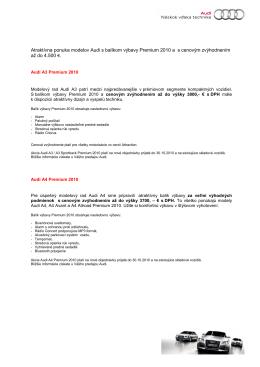Audi Premium 2010 26.8.2010