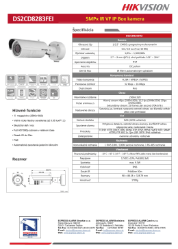 DS2CD8283FEI - express alarm