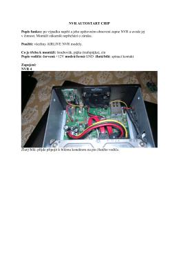 NVR AUTOSTART CHIP