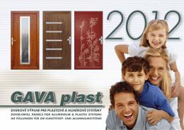 Katalóg - GAVA Plast