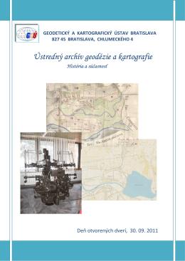 Ústredný archív geodézie a kartografie