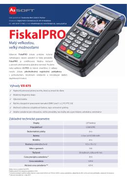 VX 675 - A3 Soft sro