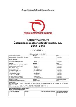 KZ ZSSK 2012-2013