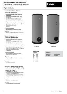 CombiVal ER katalog