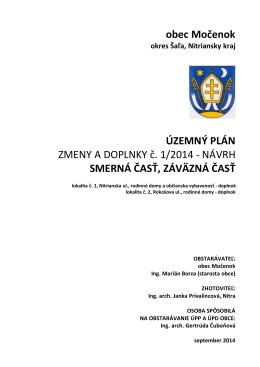 text Močenok ZaD návrh (pdf - 298 KB)
