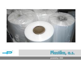 LDPE Fólie - Plastika, as