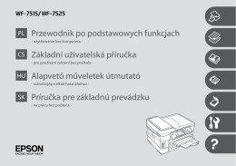 Przewodnik po podstawowych funkcjach Základní