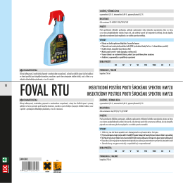 FOVAL RTU - Agrovita