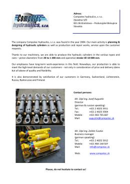 Compotec hydraulics 2014-EN