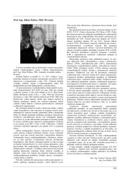 143 Prof. Ing. Július Šoltész, PhD. 90