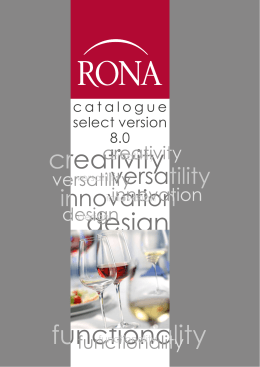 RONA Catalogue Select 8.0