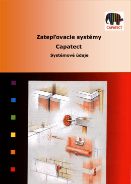 Zatepľovacie systémy Capatect