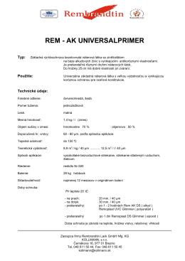 REM AK UNIVERSALPRIMER