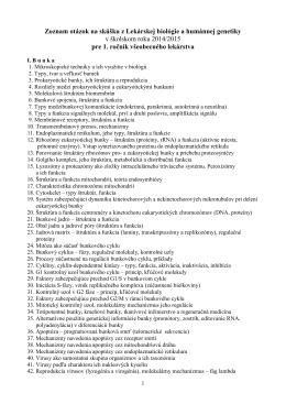 otázky na skúšku VL 2015