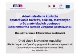 10 Prezentacia VO PO2 OPIS Michal Zábušek
