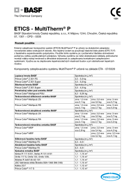 ETICS - MultiTherm® P