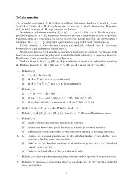 Zbierka príkladov z diskrétnej matematiky