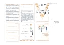 Vichy vernostný program