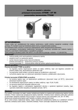 Návod k použitiu FRe 525 22