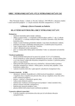 oznam v pdf - Nitrianske Sučany