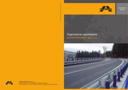 Organizačné usporiadanie - ALPINE SLOVAKIA, spol. s ro
